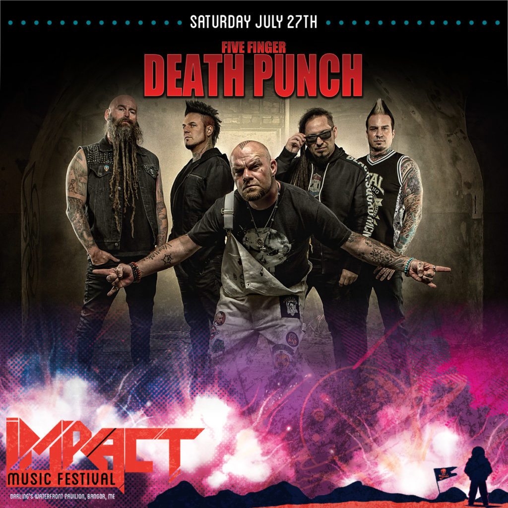 Five Finger Death Punch Impact Music Festival